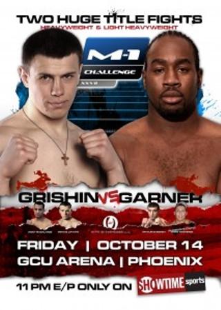 M-1 Challenge 27: Grishin.vs.Garner – rozpiska
