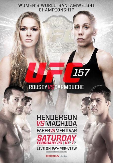 UFC-157Poster