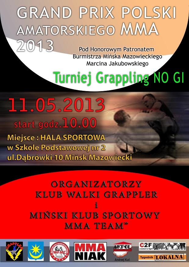 Grand Prix2 Grand Prix Polski Amatorskiego MMA 2013