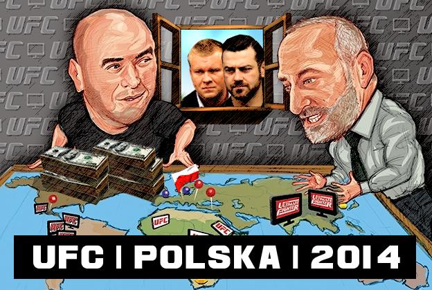 Gala UFC w Polsce już w 2015 roku?