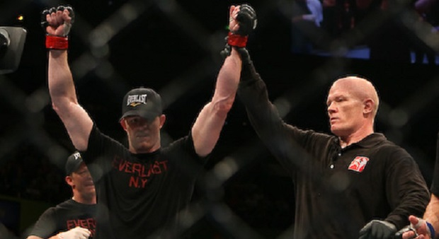 C.B. Dollaway (red) def. Goran Reljic (blue) by Decision at UFC 110