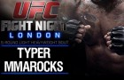 Typer MMARocks: UFC Fight Night: Gustafsson vs. Manuwa