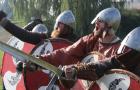 Fota tygodnia: Janek Błachowicz przygotowuje się z wikingami do walki w Szwecji