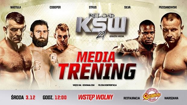 KSW 29 Media Trening media