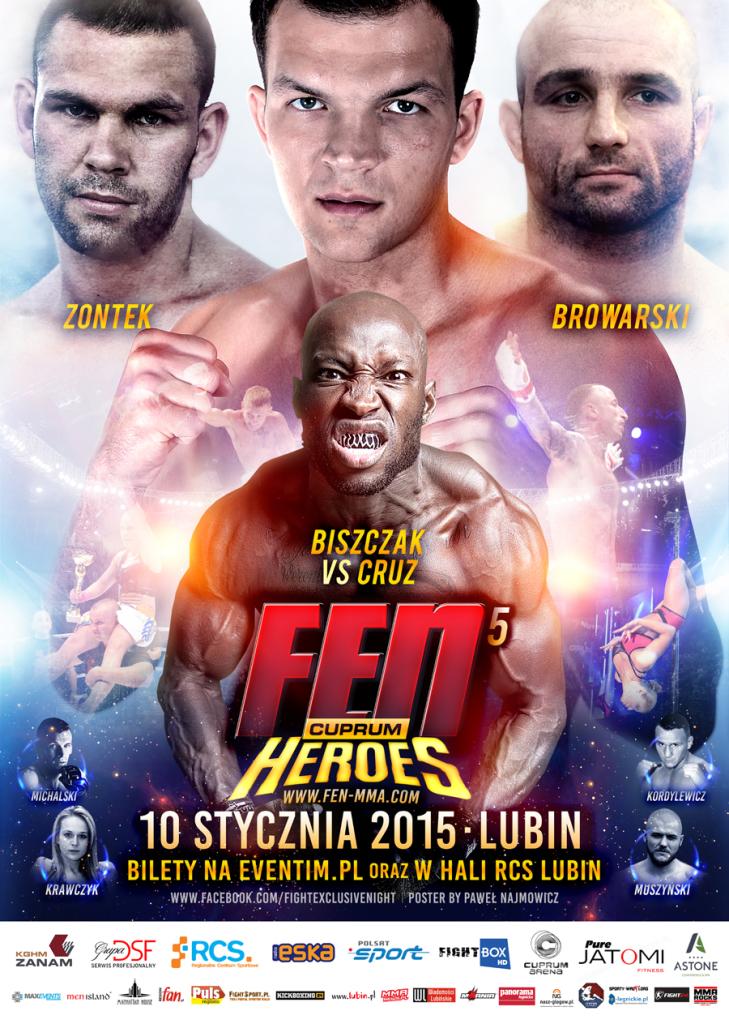 Fight Exclusive Night 5: Cuprum Heroes FEN 5