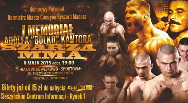 I.Memorial.Szarza.MMA.Plakat