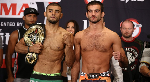 Lima.vs.Koreshkov.Weigh